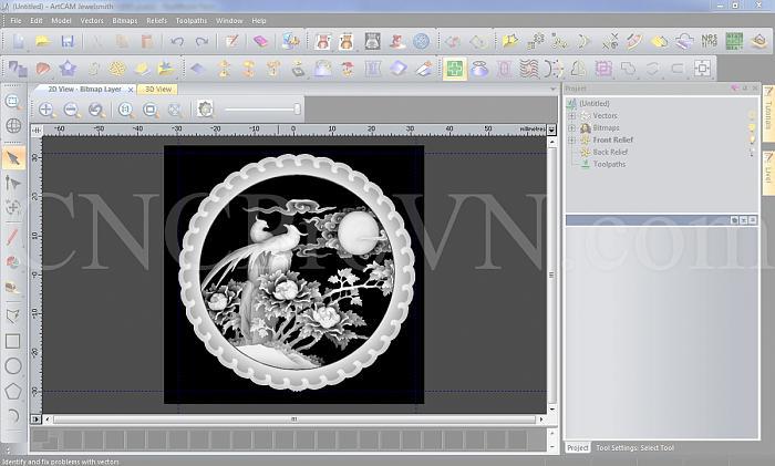 Click vào ảnh để xem ảnh lớn hơn.  Name:CKD - ArtCAM - ex 03.jpg Views:3 Size:342.8 KB ID:10738