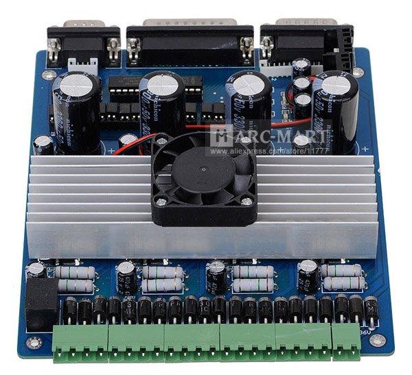 Click vào ảnh để xem ảnh lớn hơn.  Name:4_AXIS_CNC_Router_or_Mill_Stepper_Motor_complete_kit_TB6560_Driver_Controller_NEMA_23_Stepping_M.jpg Views:303 Size:78.7 KB ID:6798
